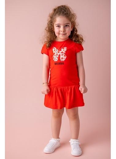Zeyland Kırmızı Believe Fırfırlı Elbise (9ay-4yaş) Kırmızı Believe Fırfırlı Elbise (9ay-4yaş) Kırmızı